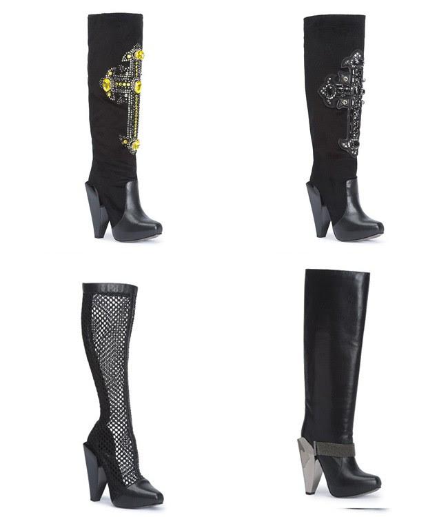 1 - boots - versace