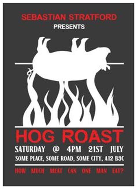 Pig Roast Table Cloth Invitations   Invitations, Pigs and
