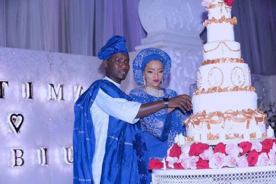 Photos From Tunde Sabiu And Fatima's Wedding