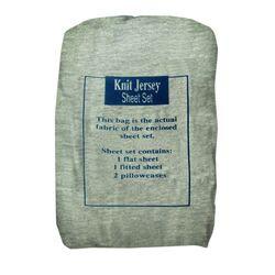 Textiles Plus Inc. Jersey Sheet Set in Floral Tanya | Wayfair