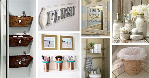 cheap  easy diy bathroom ideas style motivation