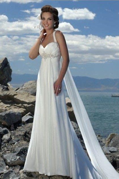 beach wedding dresses for older brides   Destination