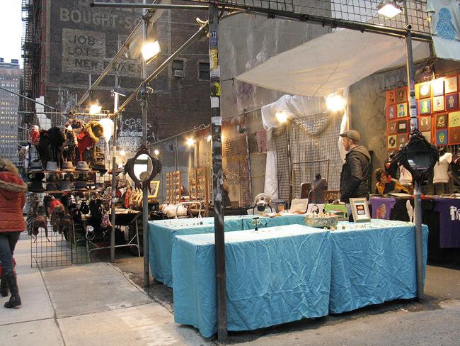 Soho stall, NYC