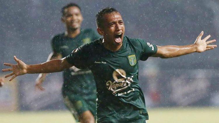 Irfan Jaya (Persebaya Surabaya). Copyright: © @officialpersebaya