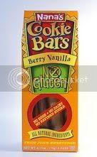 Nana's Gluten-Free Vanilla Berry Cookie Bars
