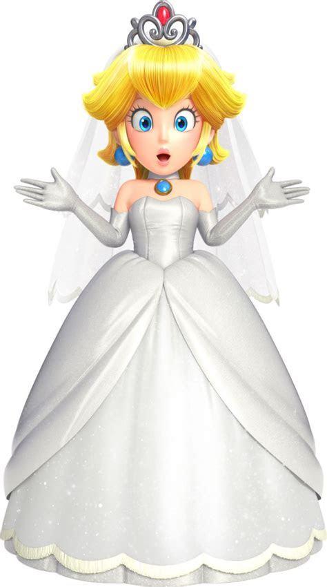 Mario Can Wear Princess Peach's Wedding Dress In Super