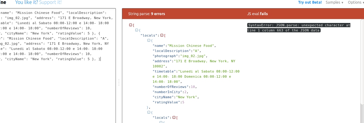How to parse an array of JSON from database in swift