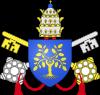 CoA della Rovere popes.svg