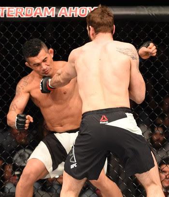 Nikita Krylov Francimar Bodão UFC Holanda (Foto: Getty Images)
