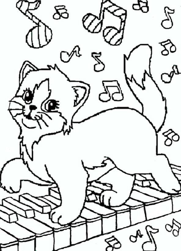 malvorlagen katzen zum ausdrucken  malvorlagen