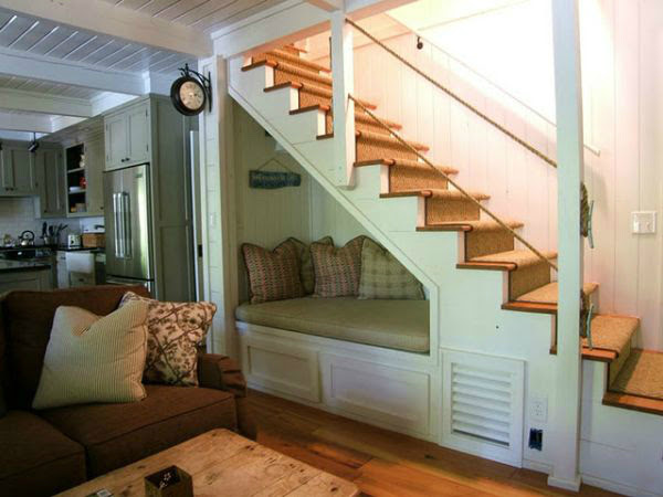 Tips for the Space Under the Stairs - Decoholic