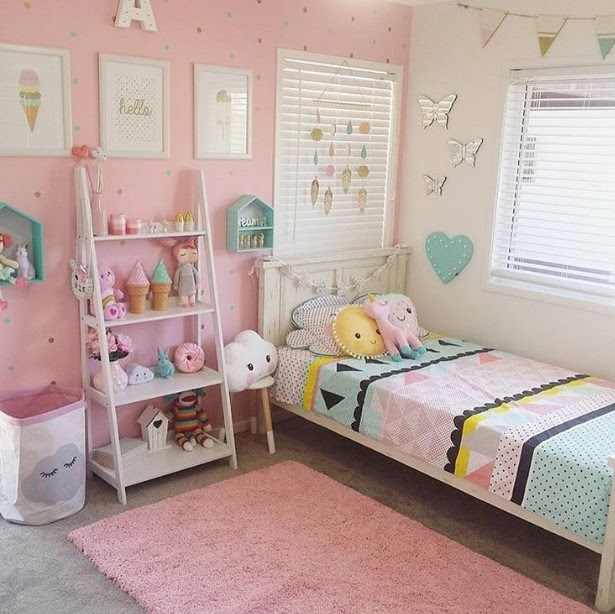 50 Cute Teenage Girl Bedroom Ideas   How To Make a Small ...