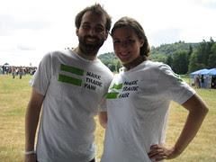 Oxfam volunteers