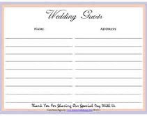 NEW 570 WEDDING GUEST BOOK COST   wedding guestbook