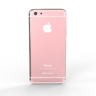Lux 24k Rose Gold White iPhone 6 by BRIKK