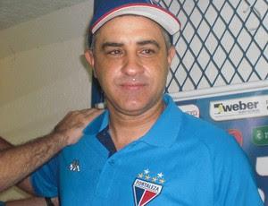 Chamusca, técnico, Fortaleza (Foto: Thaís Jorge)