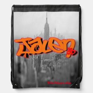 Blox3dnyc.com Empire design for Jalen Drawstring Bag