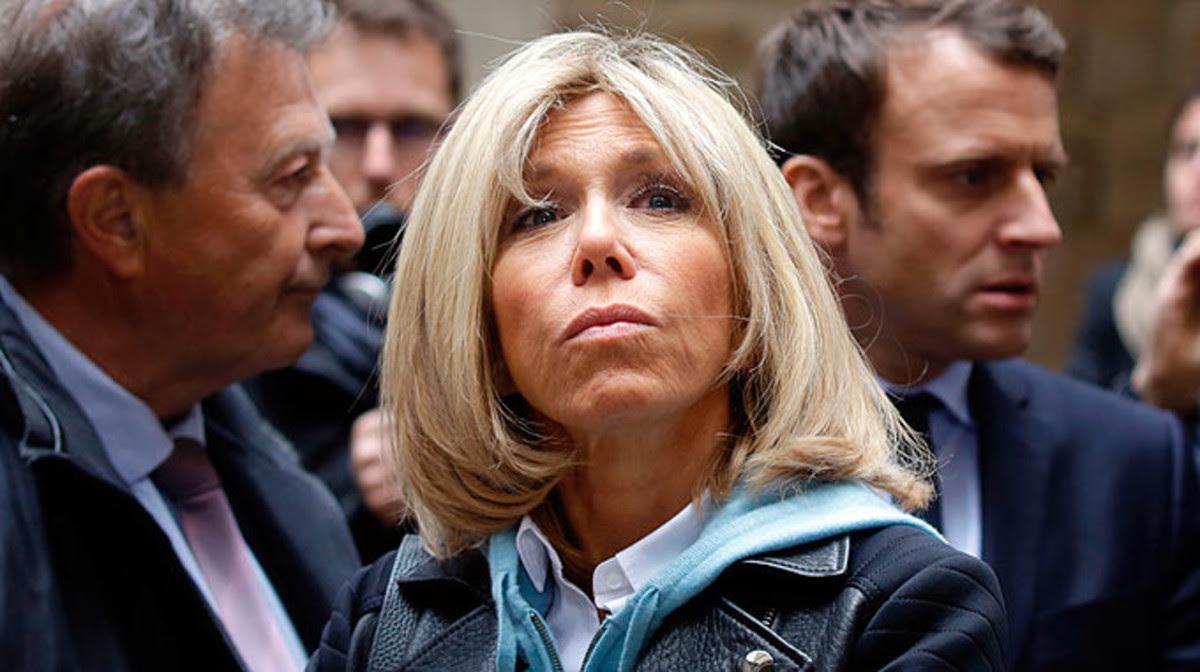 Brigitte, una primera dama 25 años mayor que el presidente