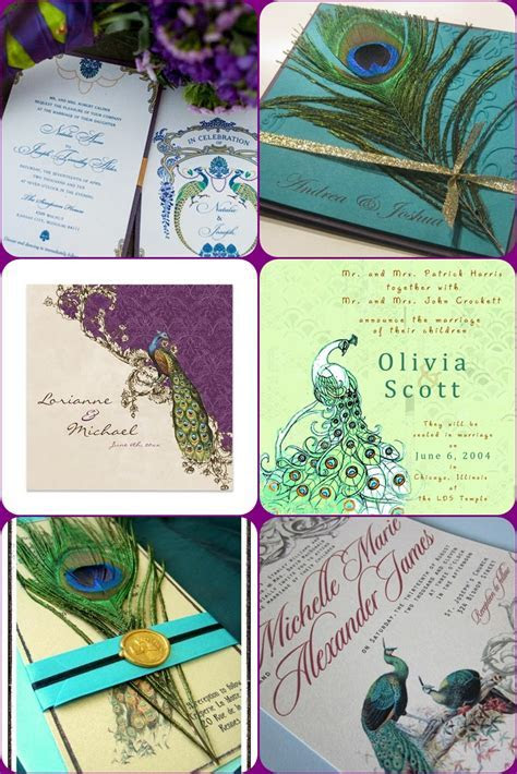 Peacock Wedding Ideas and Inspirations