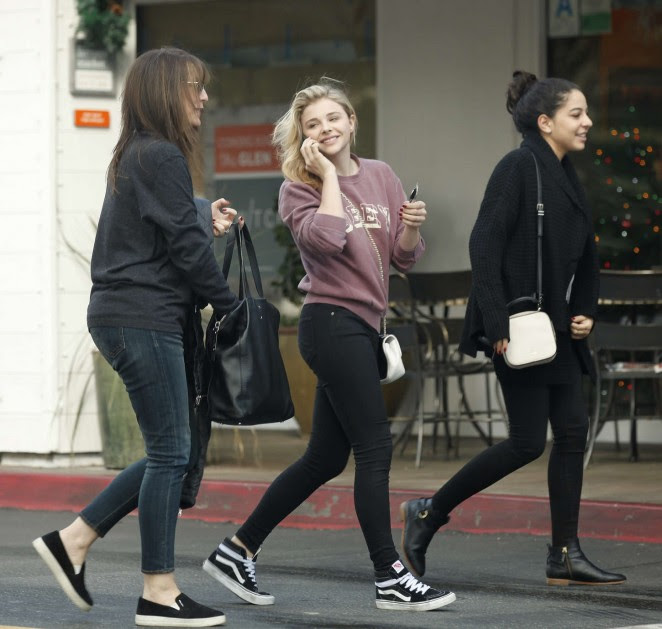 Chloe Moretz Out in LA -03