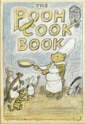 The Pooh Cook Book Preparatory Sketch a