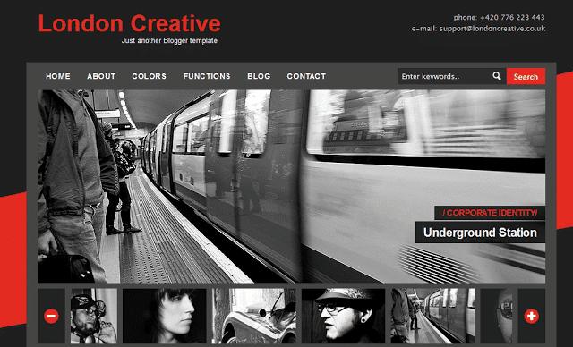 London Creative - Portfolio Gallery Template