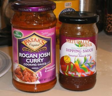 BBB Naan: Condiments to go with