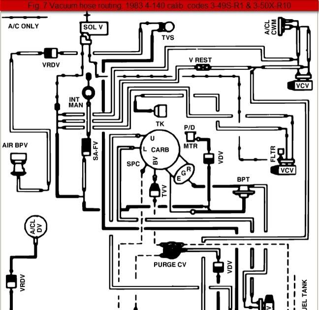 31 1994 Ford Ranger Vacuum Hose Diagram