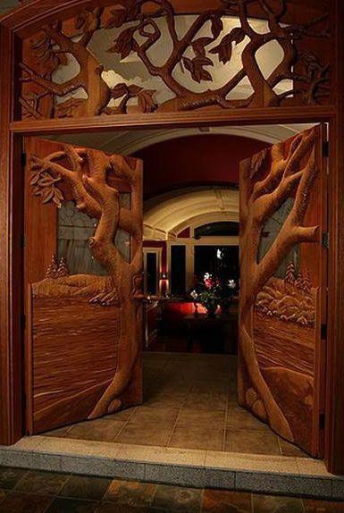 main door entrance wood design  | 537 x 800