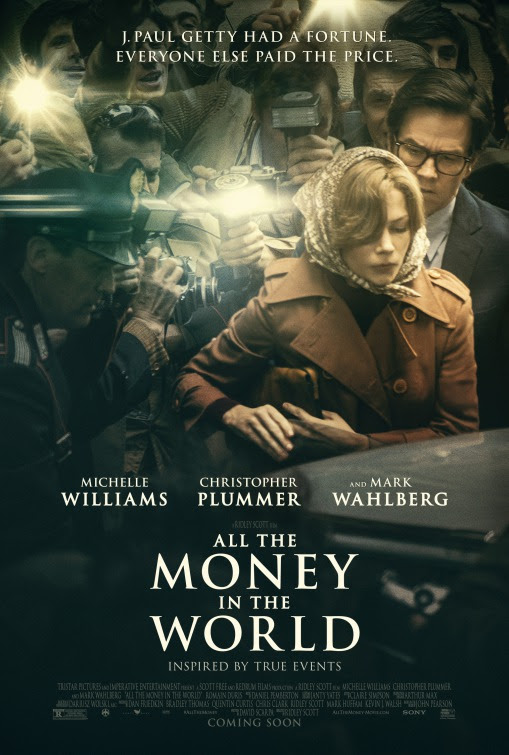 Resultado de imagem para movie poster All The Money In The World