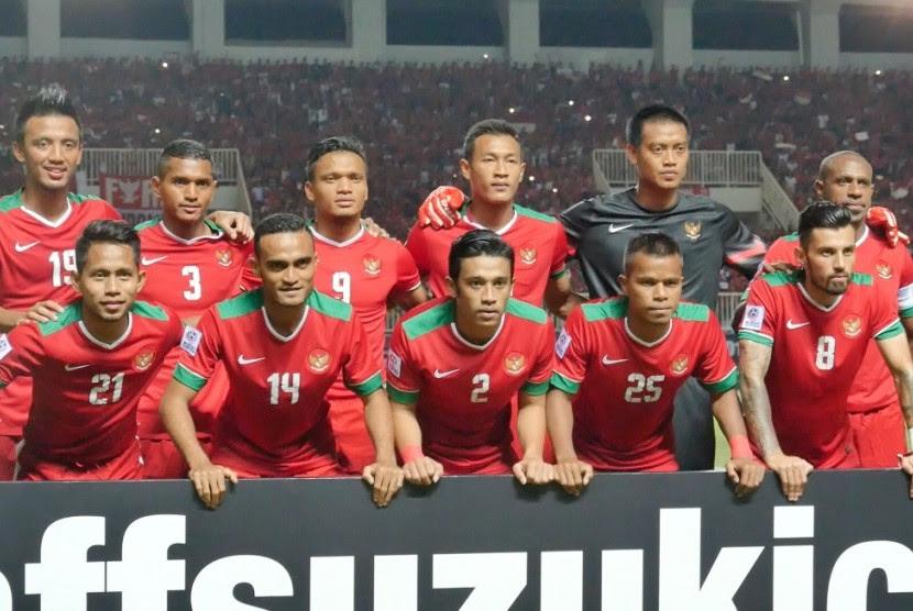 Ini Susunan Pemain Indonesia vs Thailand, Riedl Pertahankan Formasi  Republika Online