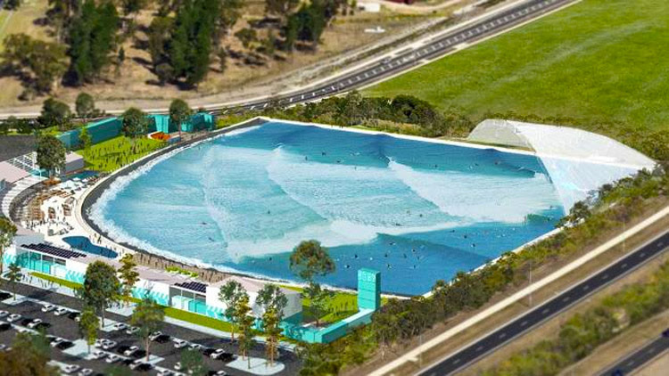 The Cove: the new surf pool technology by Wavegarden | Photo: UrbnSurf