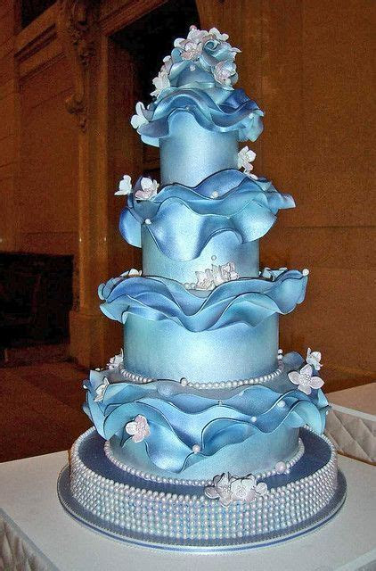 146 best images about CAKES: By Colors, Shades of Blue