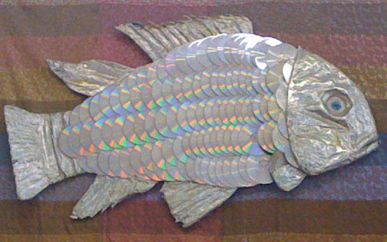 CD sculpture