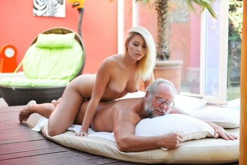 Grandpa Got Me Wet - Aria Logan