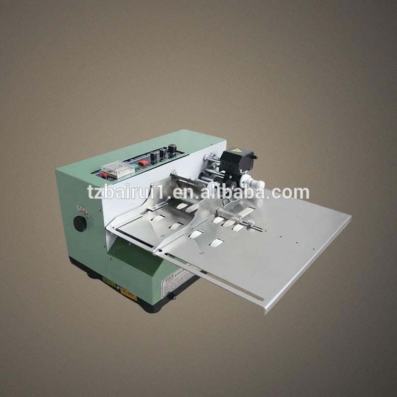 Batch number coding machine