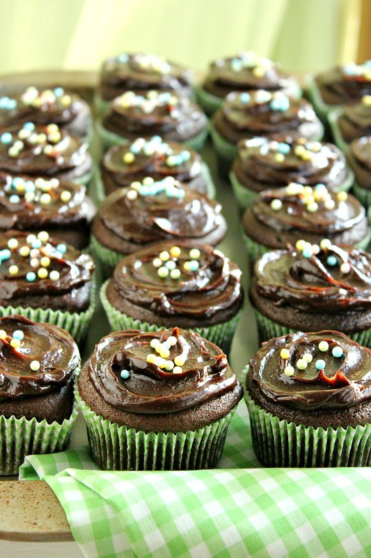 Chocolate Avocado Cupcakes 6