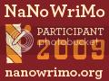 Official NaNoWriMo 2009 Participant