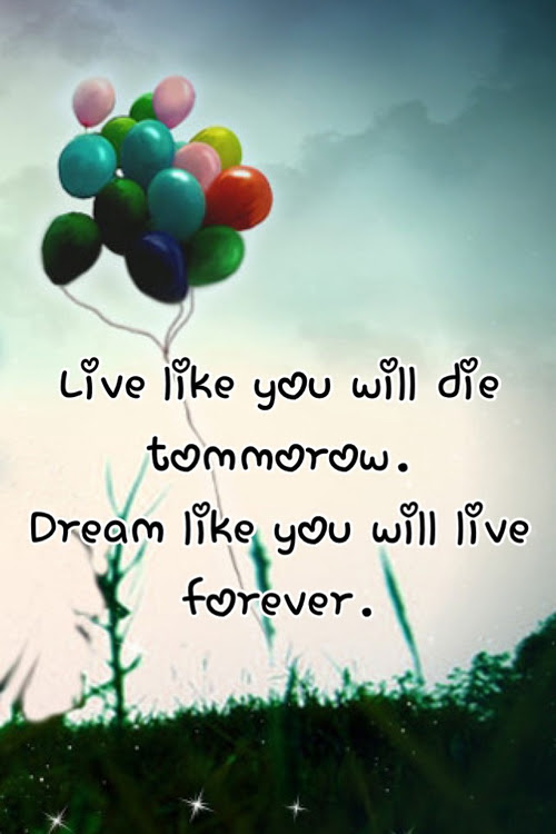 Live Like You Will Die Tomorrow Pictures Photos And Images For