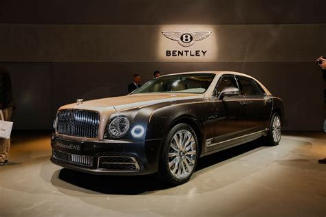2017 Bentley Mulsanne Preview: Live photos and video