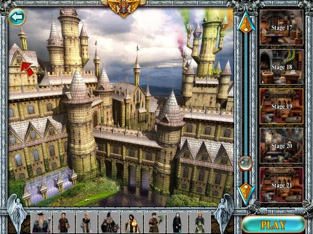 Magic Academy Free PC Game Screenshot