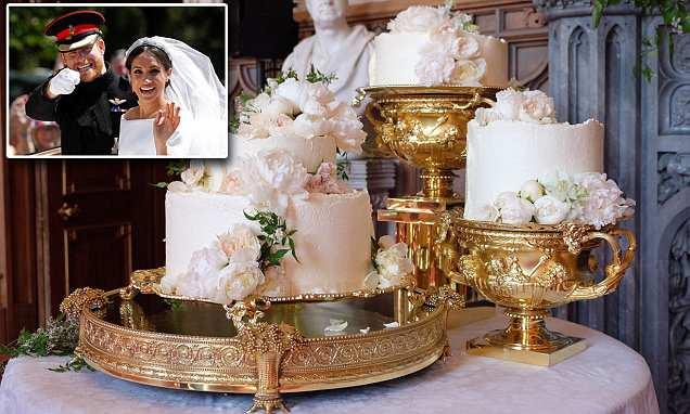 O bolo de casamento do príncipe Harry e Meghan Markle revelado
