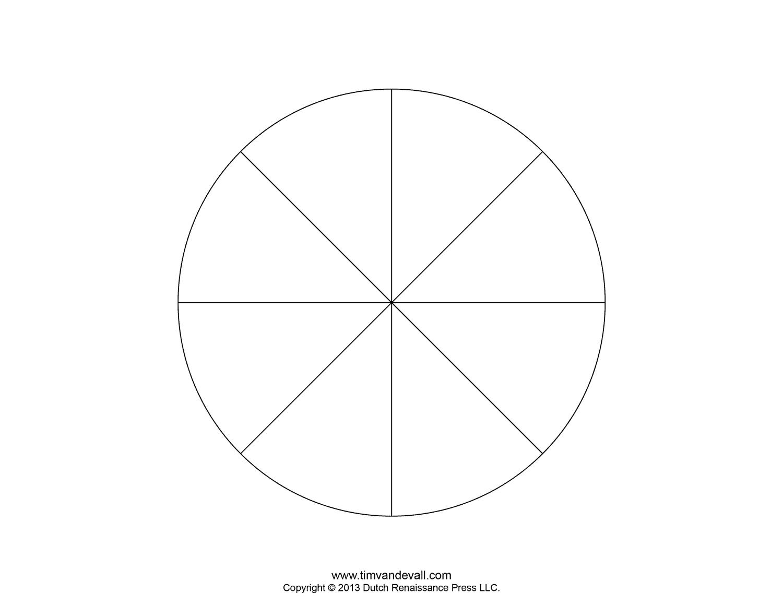 Blank Pie Chart Templates | Make A Pie Chart