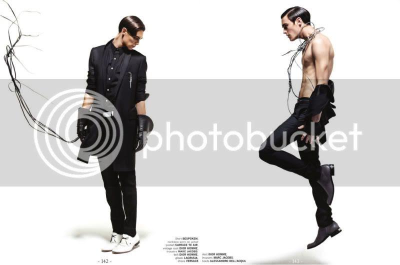 Uomo Collezioni #70 Spring/Summer 2010 - Wired @ StreetStylista.Guy