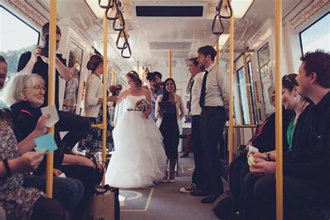 'Nice long aisle and plenty of seats': Perth couple hold