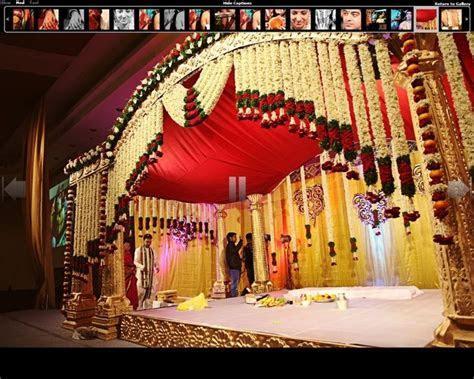 south indian wedding mandap decoration   Google Search