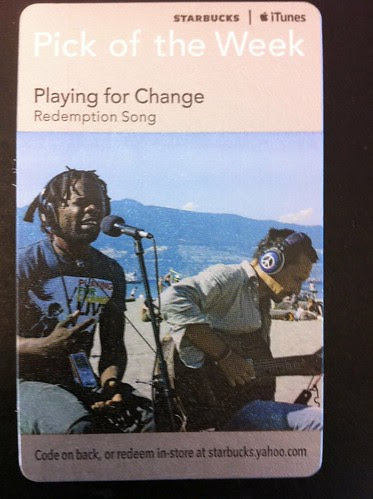 Starbucks iTunes Pick of the Week - Playing for Change - Redemption Song