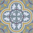 Roseton Relief #1 Tile