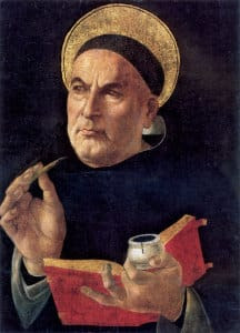 Thomas Aquinas Black large