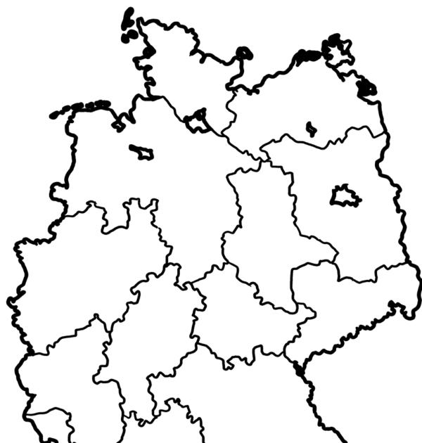 ausmalbilder deutschlandkarte
